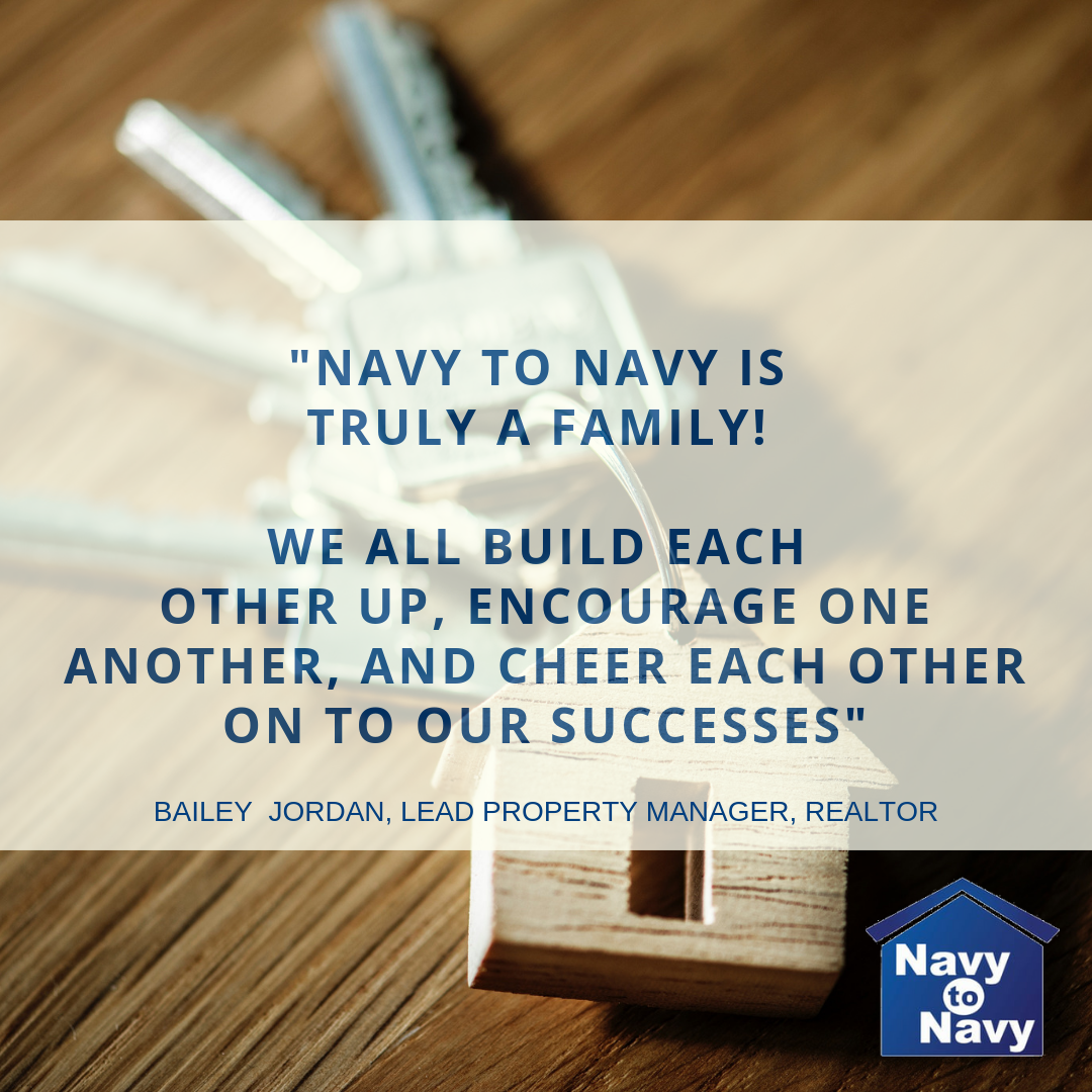 navy to navy homes is a family - bailey jordan